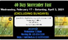 40 Day Surrender Fast
